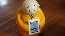 CHINA-RELIGION/ROBOT