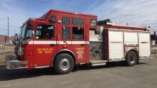 Thunder Bay fire truck full shot