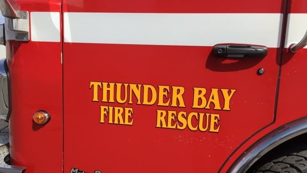 Thunder Bay Fire Rescue received a helping hand from police officers after a second fire appeared in the S. May Street area.