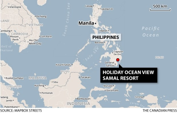 Philippines hostage taking