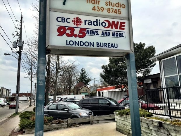 CBC studio in London