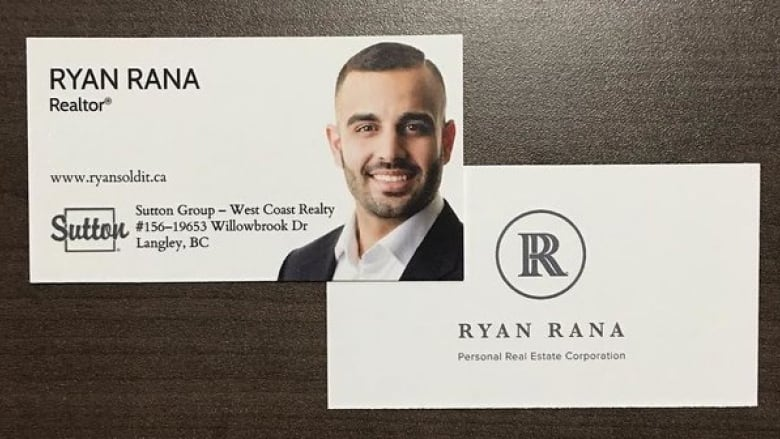 Ringer realtor ryan rana exam imposter unprecedented says official ryan ranas business cards rana was licensed as a realtor in february after an imposter passed his licensing exam with a score of 90 per cent twitter reheart Image collections