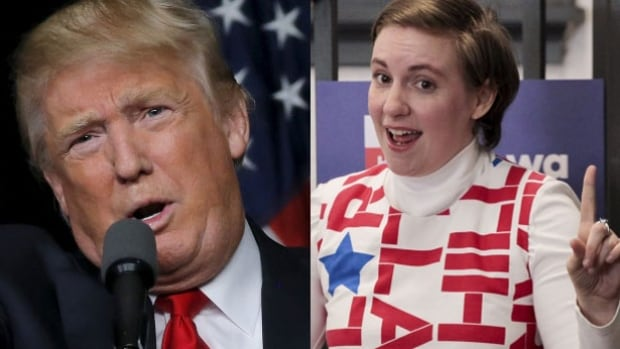 Lena Dunham says she will move to Vancouver if Donald Trump wins the U.S. presidential election.