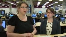 Amanda Tiller-Hackett Krista Godfrey nlla newfoundland libraries association