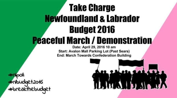 Budget 2016 protest poster