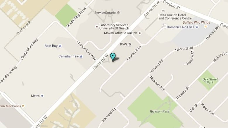 Map Of Canada Kitchener.Asbestos Used In 2 Federal Buildings In Kitchener Cbc News