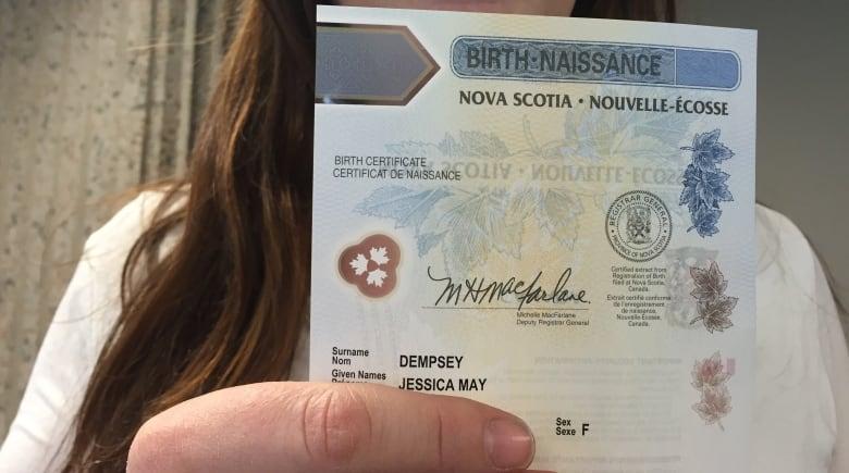 Transgender people take advantage of Nova Scotia birth certificate ...
