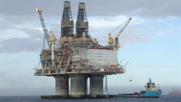 Hibernia oil rig