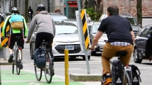 If Vancouver builds a bike lane and nobody seems to care, can it still be an election issue?