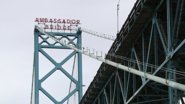 Ambassador Bridge Enhancement Given Go Ahead By Trudeau