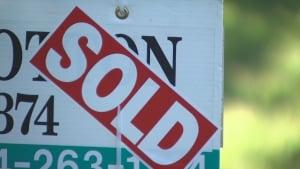 Realtor Sold Sign in North Surrey B.C.