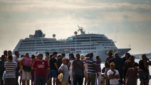 St Cruise From A US Port In Decades Arrives In Cuba World - Cuba cruise ship