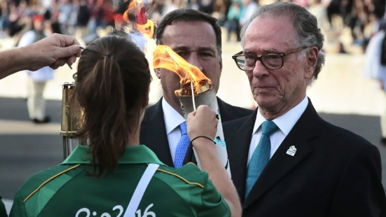 97eacd0c7f4c Rio s Olympic flame set to arrive in Brazil for torch relay