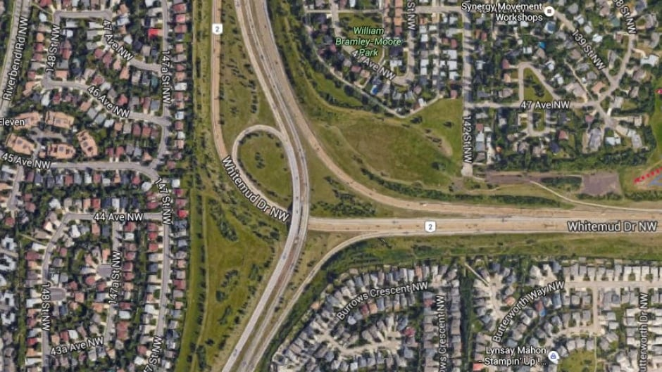 Terwilligar Drive on-ramp to Whitemud closing for