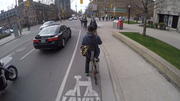 Bloor Street bike lanes Matt Galloway