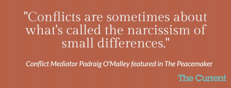 Peacemaker' Padraig O'Malley uses addiction treatment to help bitter