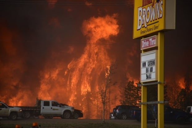 Fort McMurray Mary Browns forest fire