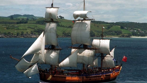 Explorer Capt. James Cook's ship the Endeavour likely ...