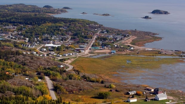 An aerial view of Fort Chipewyan, Alta., in 2011. The Mikisew Cree First Nation, which has much of its membership and administration based in Fort Chipewywan, is preparing to vote on a $136 million settlement under Treaty 8.
