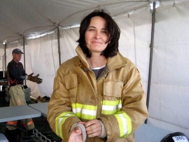 Liane Tessier Firefighter