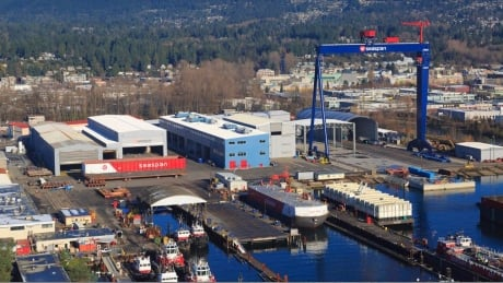 B.C. shipyard awarded $230M contract to design navy's resupply ships