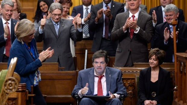 Ottawa-Vanier MP Mauril Bélanger, who has ALS, used a tablet speech tool to kick off debate on his private member's bill to change the lyrics of O Canada. He used a wheelchair to make it to the House of Commons for that debate. Since then, his health has deteriorated further.