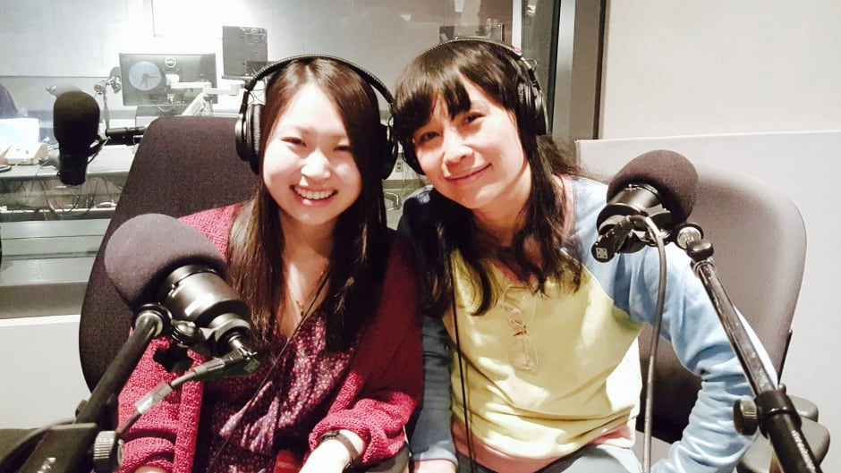 Sook-Yin Lee and DNTO listener Stephanie Wan