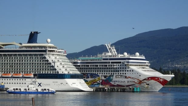 While in Canadian ports, cruise ship passengers spent almost $262