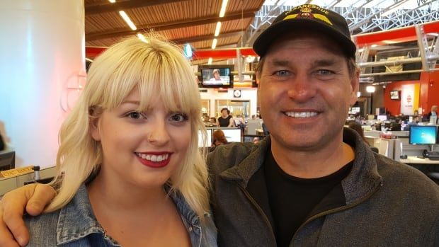 Kaitlin Hrudey, and her father, former NHL goaltender and current broadcaster Kelly Hrudey, are encouraging families to reach out for help when mental illness strikes a family.