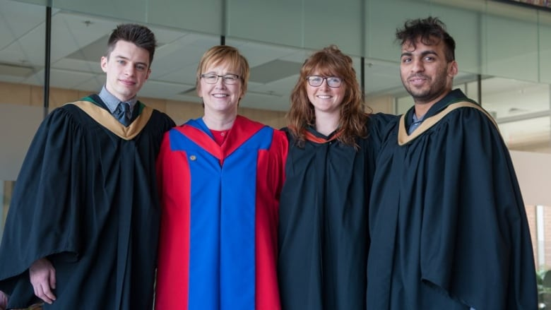 UPEI grads encouraged to 'share knowledge humbly'   CBC News