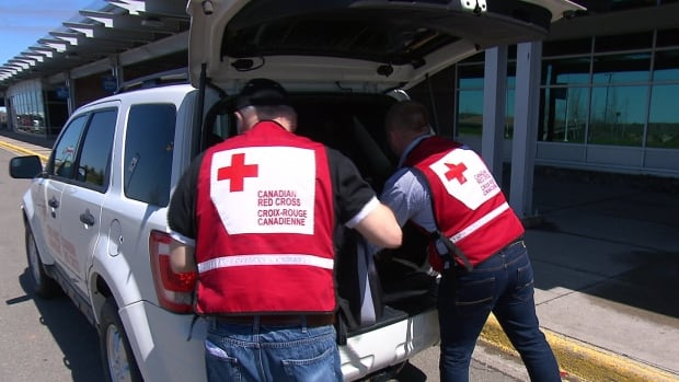 The Red Cross currently has about 600 staff and volunteers on the ground in Alberta responding to the aftermath of the Fort McMurray wildfires.