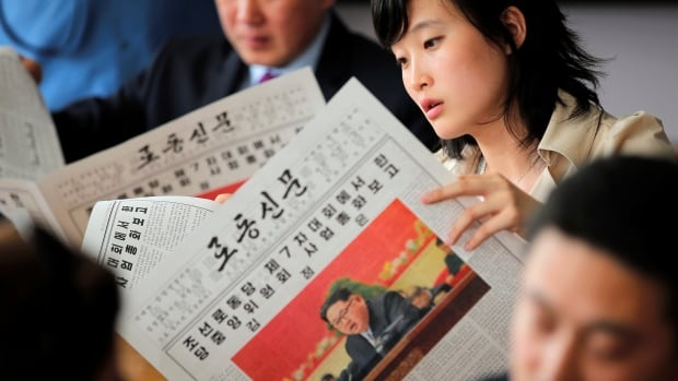 North Korea's Kim Jong-un spoke for three hours Saturday at the ruling party's first congress in 36 years. His speech was printed in its entirety in the Rodong Sinmun newspaper.