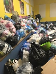 East Coasters for Fort McMurray posted this photo of donations.