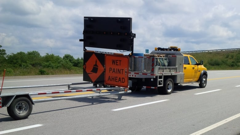 Line-painting crews to be busy freshening up N S  highways