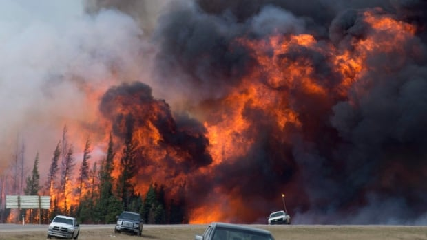 May's wildfires in northern Alberta caused a major disruption to the economy in the second quarter, according to Statistics Canada.