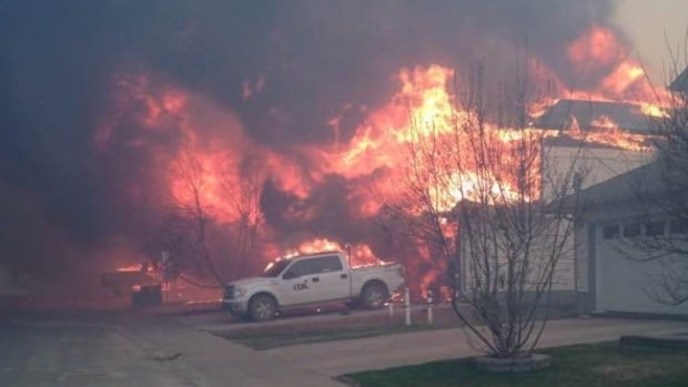 Photo of Fort McMurray taken by Tia Morari in the field.