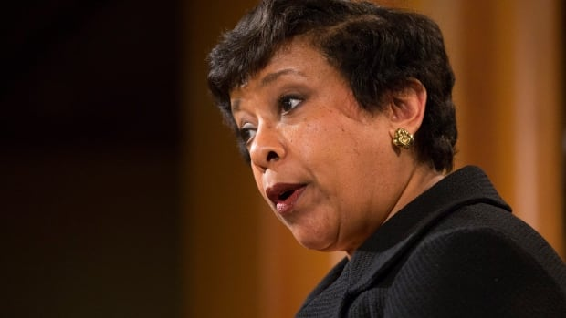 Attorney General Loretta Lynch says North Carolina's bathroom law amounts to 'state-sponsored discrimination' against transgender people.
