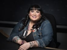 Candy Palmater  is a former lawyer, writer, comedian, actor and broadcaster and was a Canada Reads panellist in 2017. (CBC)