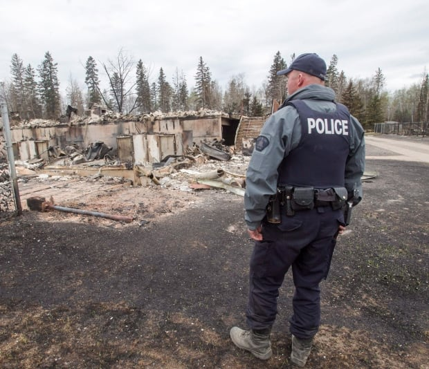 Fort McMurray fire damage Abasands