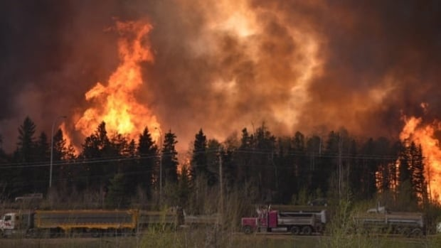 The Fort McMurray wildfire breached city limits on May 3, ripping through several neighbourhoods, destroying thousands of buildings and other homes.
