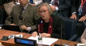 Carolyn Bennett at the United Nations