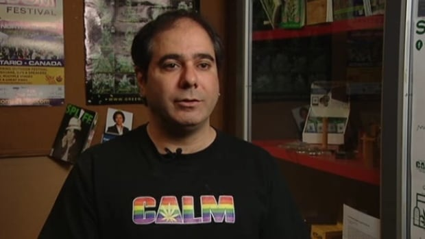 CALM founder and owner Neev Tapiero in 2010, after his store was raided by undercover police.