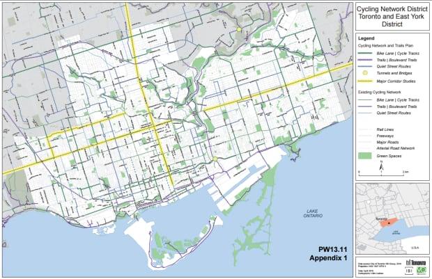 cycling plan map
