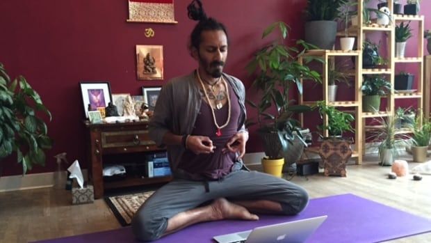 Saskatoon yoga instructor Kevin Naidoo says he didn't realize how worn down he was until a health scare forced him to take stock of his well-being.