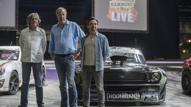 former top gear hosts name new amazon show the grand tour entertainment cbc news. Black Bedroom Furniture Sets. Home Design Ideas