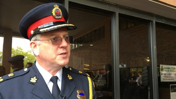 """Hamilton Police Chief Eric Girt said there was an """"inconsistency"""" in the service's responses about cellphone surveillance technology, but there was nothing nefarious about it."""