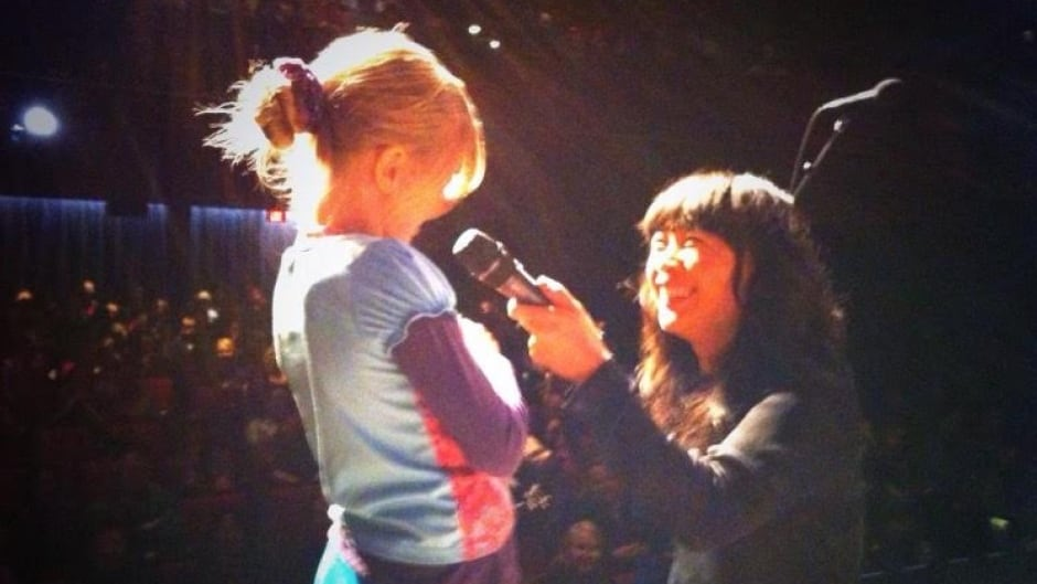 Sook-Yin interviews a young guest from our 2015 live show.