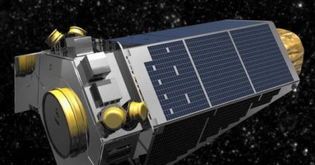 Kepler space satellite