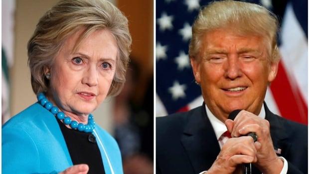 Presumptive Democratic and Republican nominees, Hillary Clinton and Donald Trump.