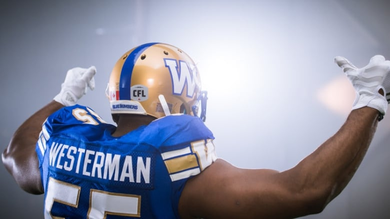 455847bb80d Blue Bombers unveil new uniforms
